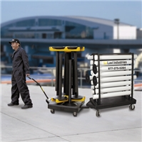 transport carts for stanchions