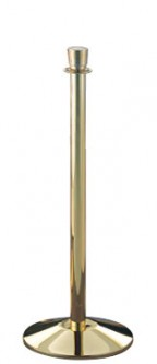 brass stanchion posts