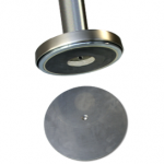magnetic base system for stanchions