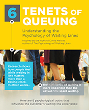 Infographic: 6 Tenets of Queuing