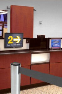 electronic queuing system